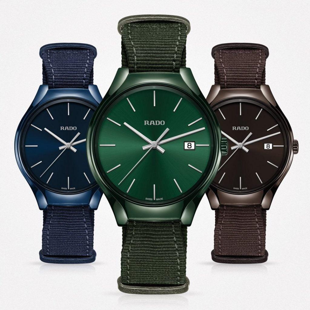 21d25383c طرح ساعة True Thinline Colours من Rado | business class بزنس كلاس موقع  اخباري